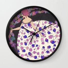 Garlands Wall Clock