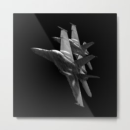 US Military Fighter Attack Jets Metal Print