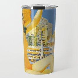 Atlantic City New Jersey - Retro Travel Travel Mug