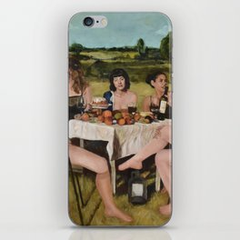 City People iPhone Skin