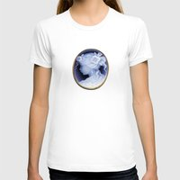 agate T-shirts featuring agate,agate cameo,gemstone by ira gora
