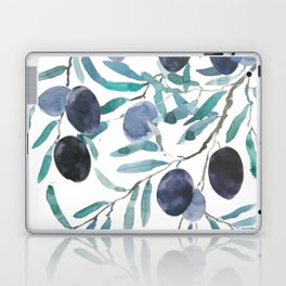 black olive watercolor 2018 Laptop & iPad Skin