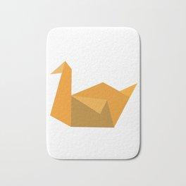 Origami Swan Bath Mat