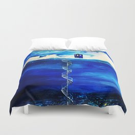 Tardis Cloud Duvet Cover