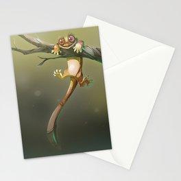Gecko Correlophus Ciliatus Stationery Cards