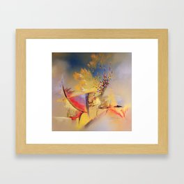 Ce que le vent disperse 1 Framed Art Print