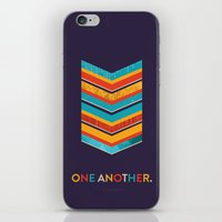 scripture iPhone & iPod Skins featuring One Another Scripture Poster (Leviticus) by Jess Creatives