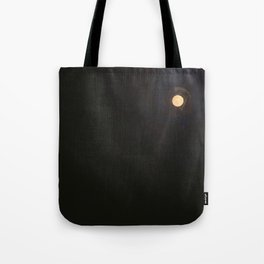 Hark, the chasing moon, above our dark winter sea Tote Bag