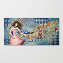 I'll Forget You Like the Fall Canvas Print