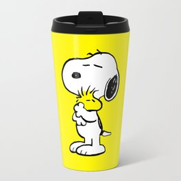 Snoopy and Woodstock Travel Mug