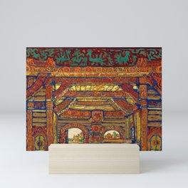 12,000pixel-500dpi - Nicholas Roerich - Snegurochka - Digital Remastered Edition Mini Art Print