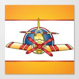 Airplane Print Canvas Print