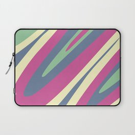 Abstraction. Camouflage. Colored bends. Laptop Sleeve