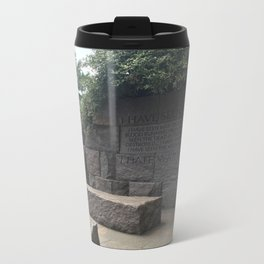 I Hate War Metal Travel Mug