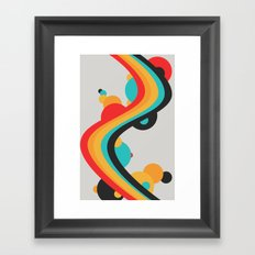 Summer Boom Framed Art Print