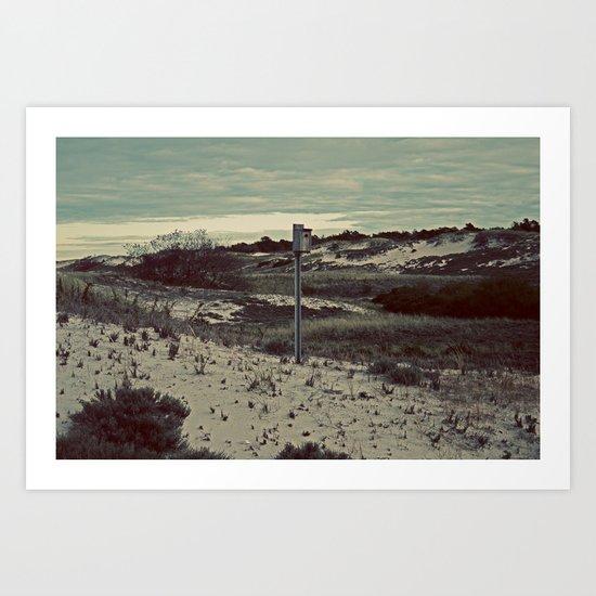 Nautica: Home is Where the Dune Is Art Print