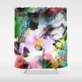 Untitled Recovered Shower Curtain