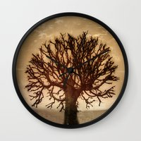 crown Wall Clocks featuring Crown by Armine Nersisian