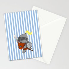 little knight in armor Stationery Cards