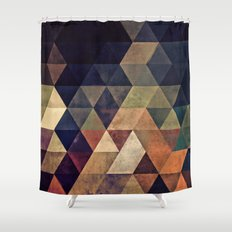 fyssyt pyllyr Shower Curtain
