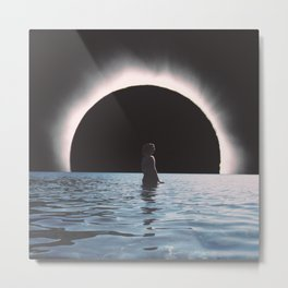 Full Eclipse  Metal Print