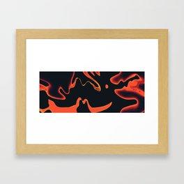 Liquid Fire Framed Art Print