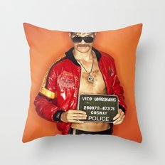 Vito Longshanks Throw Pillow