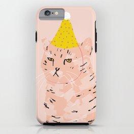 Party Cat iPhone Case