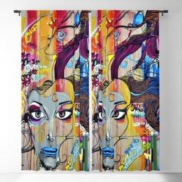 American Graffiti 101 Blackout Curtain