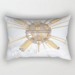 """Sputnik Light 2"" by Simple Stylings Rectangular Pillow"