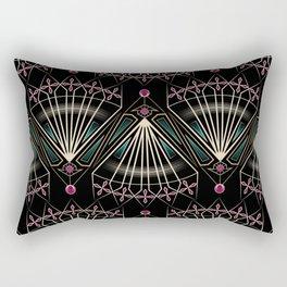 """Art Deco . """"Venice """". Rectangular Pillow"""