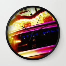 'NYC LIMO' Wall Clock