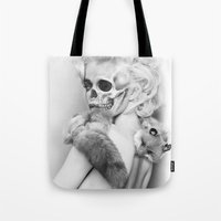 lucy Tote Bags featuring LUCY by ozgurozcelik