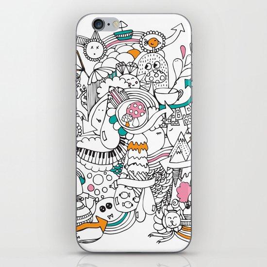 My Happy Doodle iPhone & iPod Skin