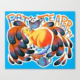 Rat Tea Party! Canvas Print