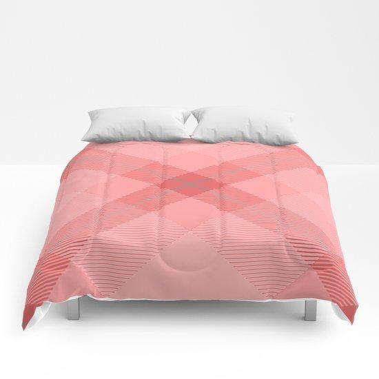 Tartan Pattern 9 Comforters