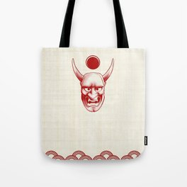 Oni over the sea Tote Bag