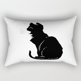 Life With Black Cats Vector Rectangular Pillow