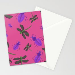 Dragonflies and Bugs Stationery Cards