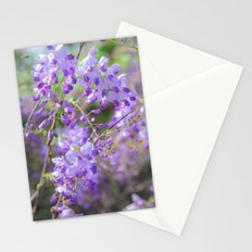 Bees and lilacs Stationery Cards