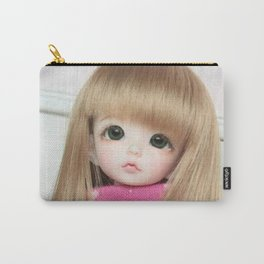 Leonor playing Carry-All Pouch