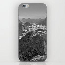 Beautiful Rio de Janeiro mountains iPhone Skin