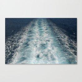 Sea Trails 3 Canvas Print