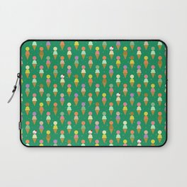 Ice Cream Scoop Green Robayre Laptop Sleeve