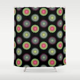 transparent floral patterns 2 Shower Curtain