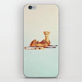 Cheetah 2 iPhone Skin