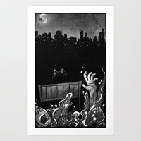 Welcome and Goodbye Art Print