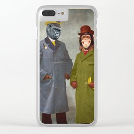 Stan & Jimmy Clear iPhone Case