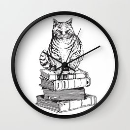 Love Book Wall Clock