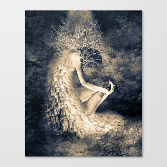 introvert. Canvas Print